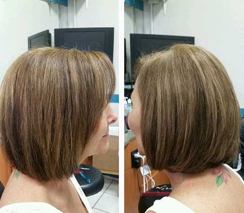 Bob Haircuts for Older Women