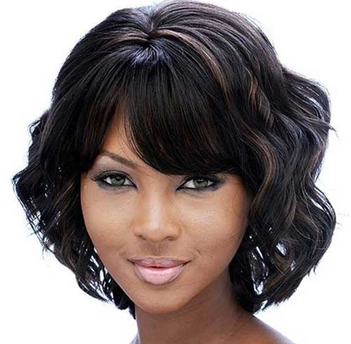 Bob Curly Haircuts for Black Girls 2018-2018