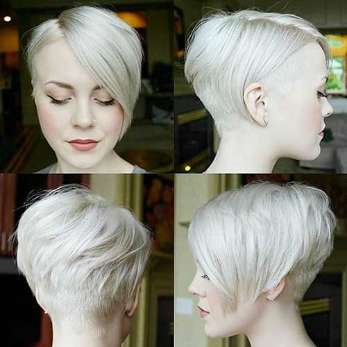 Short Asymmetrical Haircuts - 23