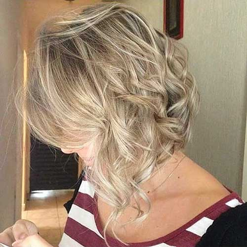 New Short Curly Hairstyles for Women - 9