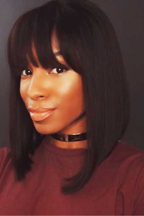 Bob Hairstyle with Bangs-8