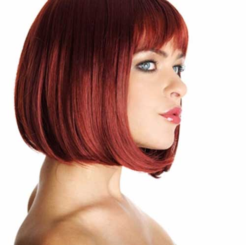 Red Bob Hairstyles Ideas Images