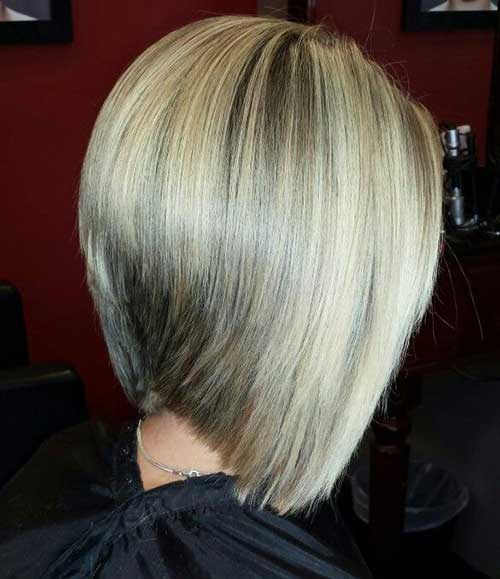 Graduated Bob Ash Blonde Hair Styles