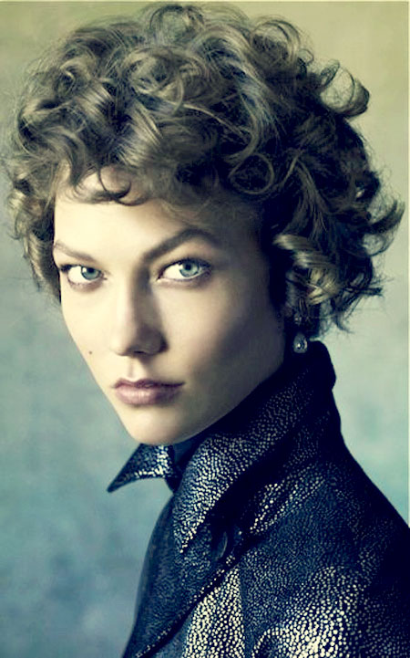 Curly Short Hair Trends 2013