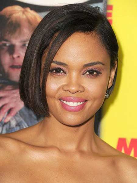 Sharon Leal Short Bob