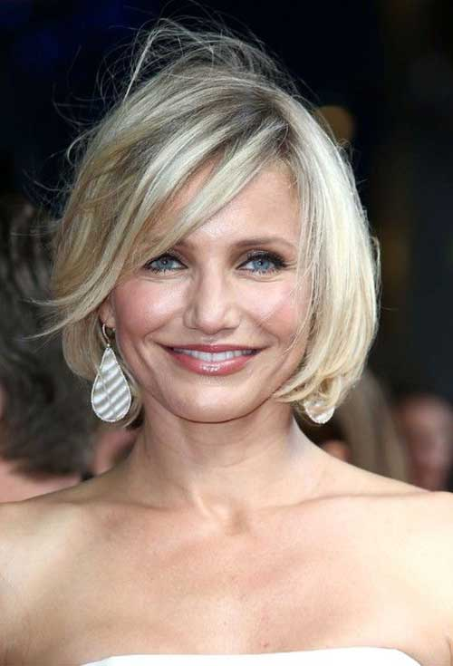 Messy Bob Hairstyles for Over 40