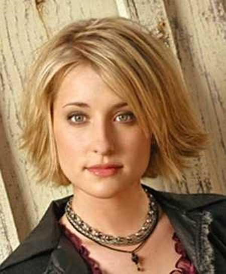 Best Short Hairstyles for Round Faces_18