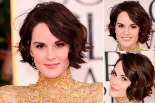 Michelle Dockery Bob Hair 2018