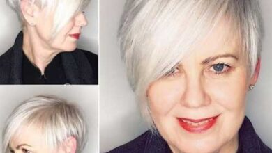 Bild von Simple Short Hairstyles for Older Women