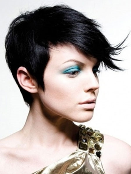 Trendy Short Asymmetrical Hairstyle