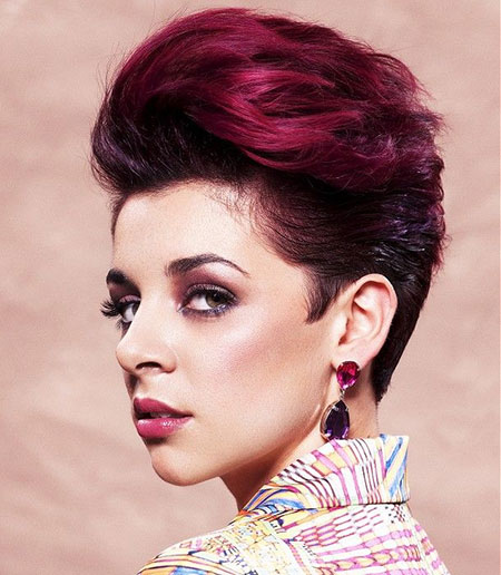 Hair Colors for Short Hair 2018_1