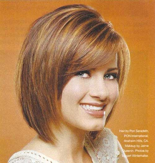 Layered Graduated Bob for Fine Hair Style