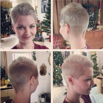 Very Short Hairstyle - Easy Pixie Hair Cuts