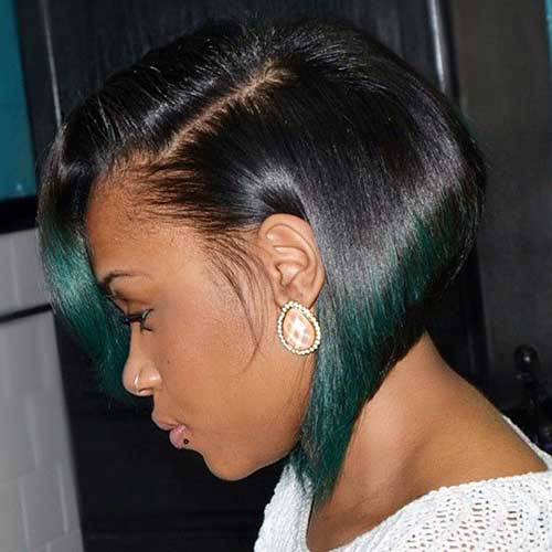 Short Bob Hairstyles for Black Women-11