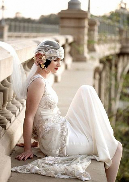Charming Graduated Bob Hairstyle for your Wedding