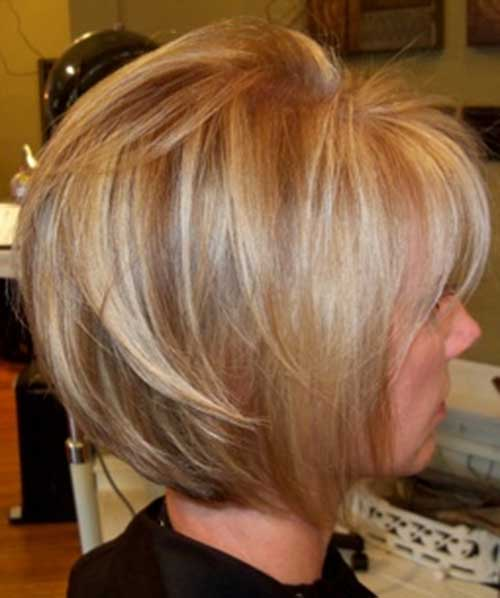Short Haircuts with Highlights-18