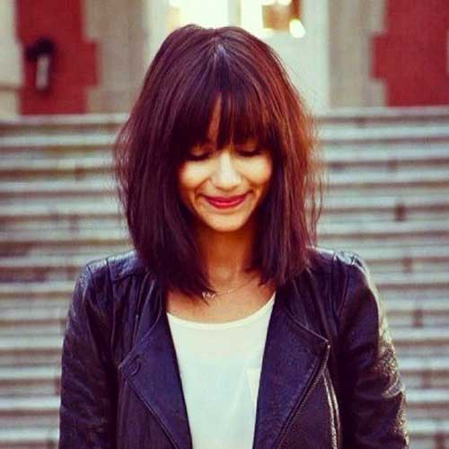 Bob Hairstyle with Bangs-36