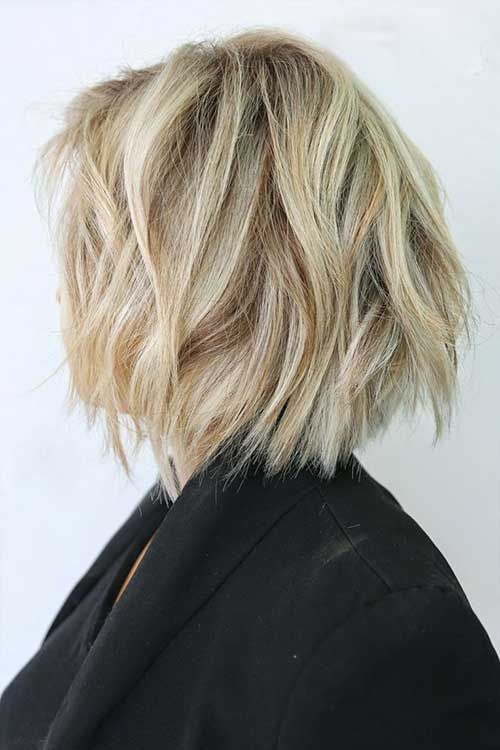 Layered Messy Bob Pictures