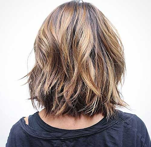 Back View of Bob Hairstyles-11