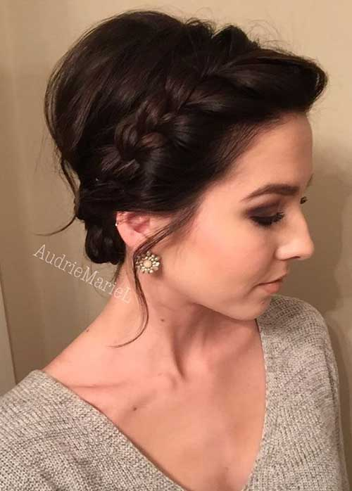 Short Updo Hair