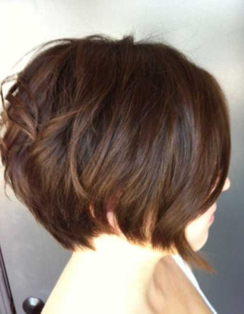 Brunette Short Haircuts-9