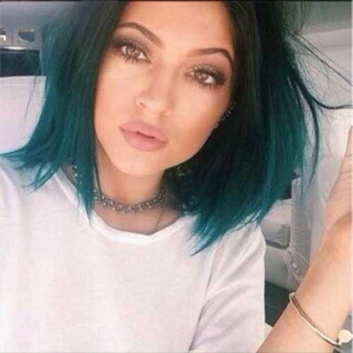 Kylie Jenner Long Ombre Bobs