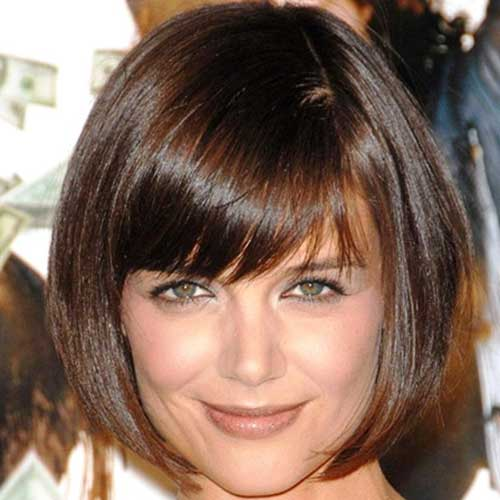 Short Cute Bob Haircuts for Oval Faces