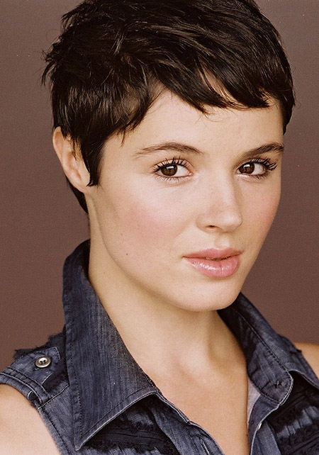 Charming Boyish Pixie Cut