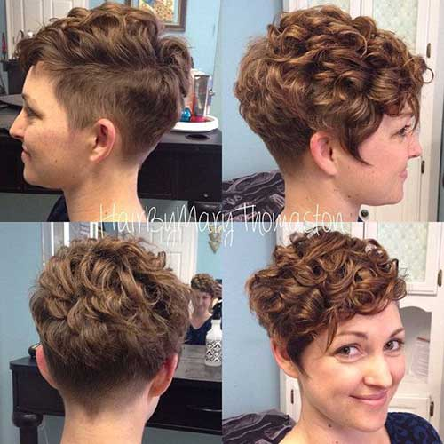 Curly Short Hairstyles-23
