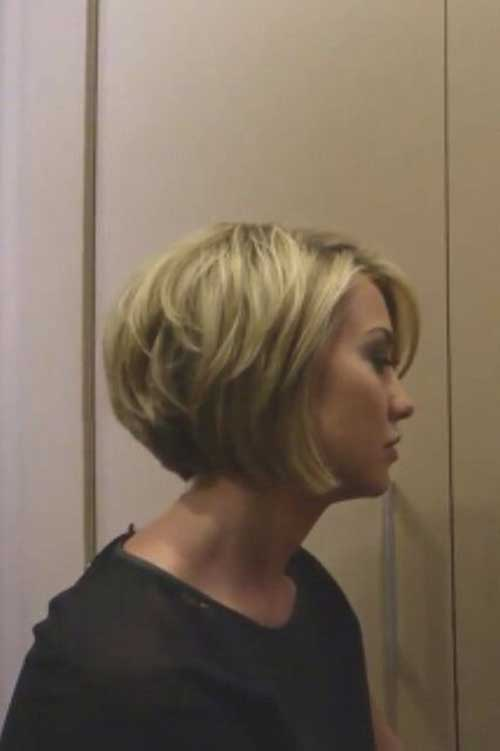 Short Bob Haircuts with Side Bangs