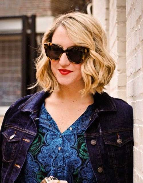 Short Wavy Bob Hairstyles for 2018