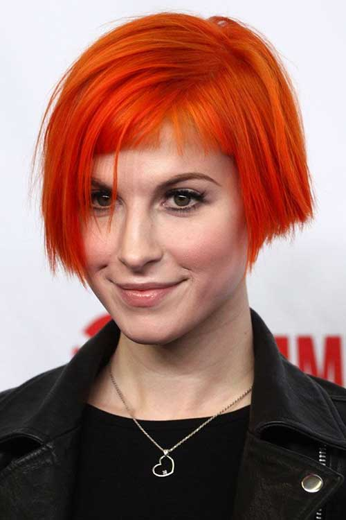 Baby Bob and Baby Bangs with Orange Color