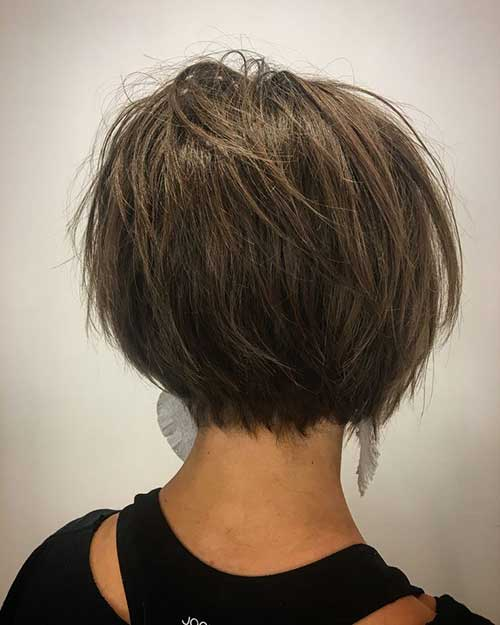 Brunette Short Haircuts-10