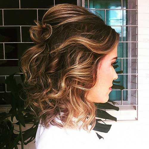 Short Curly Hairstyles - 23