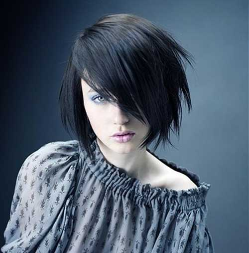 Razored Cool Style Bob Cuts