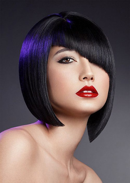 Awesome Geometric Asymmetric Bob Cut