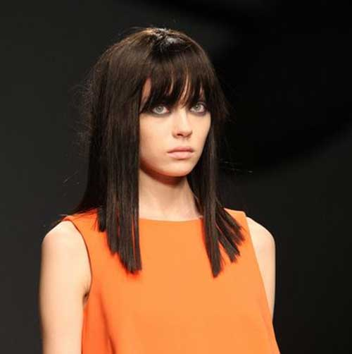 The Best Long Inverted Bob Hairstyles
