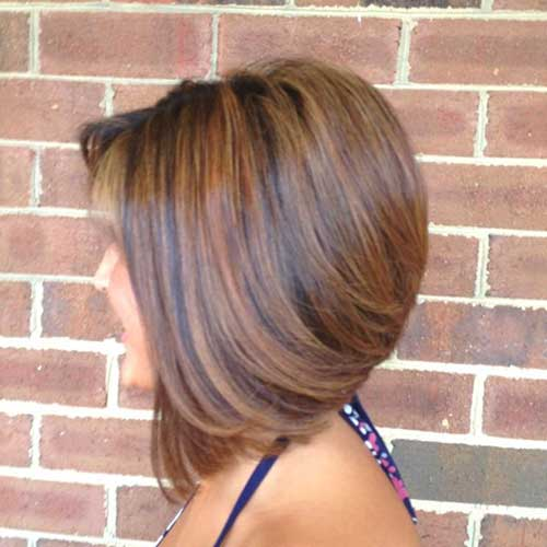 Highlight and Lowlighted Long Bob Hairstyles