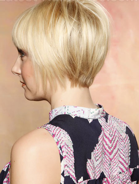 Short Fine Straight Hairstyle