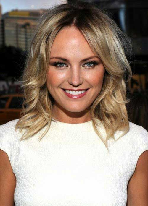Blonde Tousled Bob Hairstyles