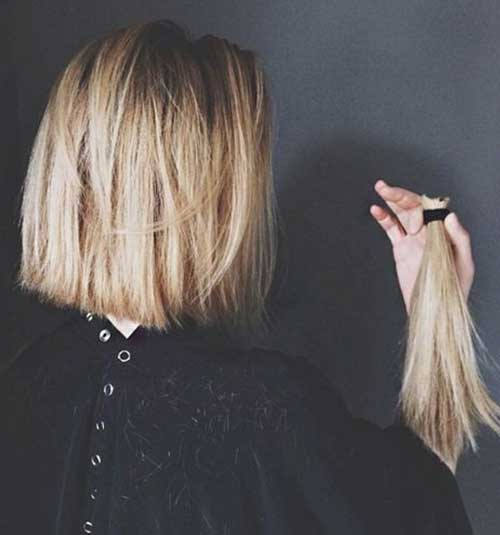 Blonde Choppy Bob Ideas
