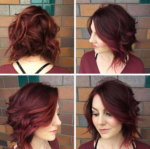 Color For Short Hair-24