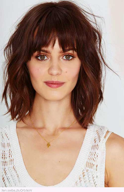 Bob Hairstyle with Bangs-19