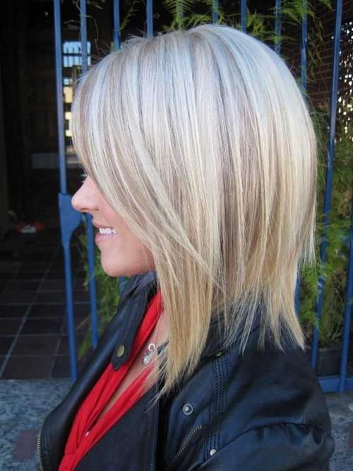Shoulder Blonde Bob Haircuts