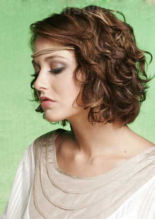 Short Curly Hair Styles-6