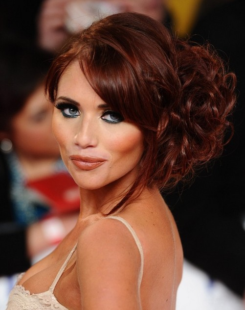 Amy Childs Lange Frisuren: Fabulous Messy Hochsteckfrisuren