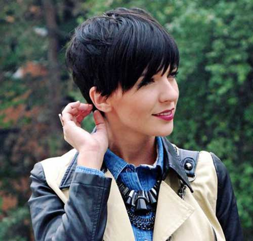 Brunette Short Haircuts-12