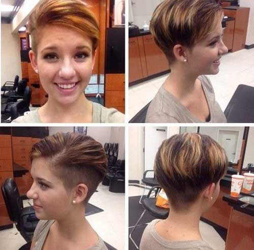 Trendy Hairstyles for Short Hair-13
