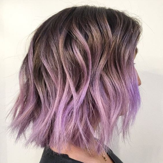 pastel-purple-ombre-short-hairstyles-for-thick-hair-20183
