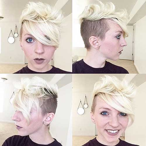 Short Blonde Hair - 12